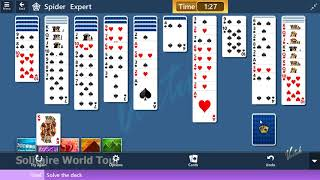 Microsoft Solitaire Collection - Spider [Expert] | July 25th 2019: Solve the deck