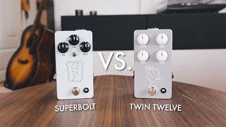 JHS Pedals Superbolt VS Twin Twelve (comparison)