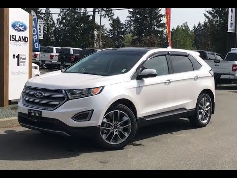 2018 Ford Edge Titanium Cold Weather Canadian Touring EcoBoost AWD Review| Island Ford