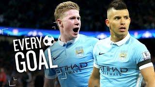 EVERY MANCHESTER CITY GOAL | Premier League 2015/16
