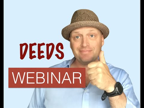 Talking about Deeds with Lisa - Real Estate Exam!