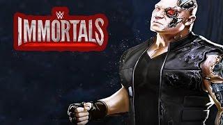 WWE Immortals - Cyborg - Brock Lesnar Signature Attack Finishers