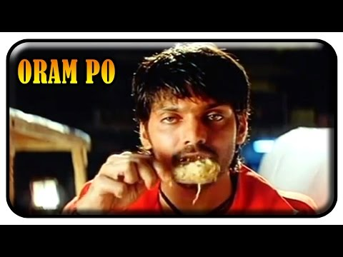 Oram Po Tamil Movie - Arya meets Pooja for the first time