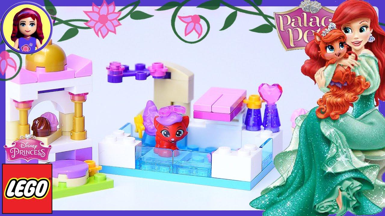 Lego Disney Princess Palace Pets Treasures Day At The Pool Build