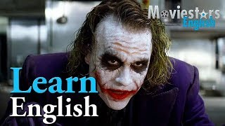 Aprender Inglés con Guasón - Top 7 Batman Phrasal Verbs