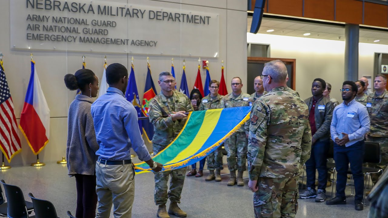 Nebraska National Guard and Rwanda Defence Force Announce New Partnership