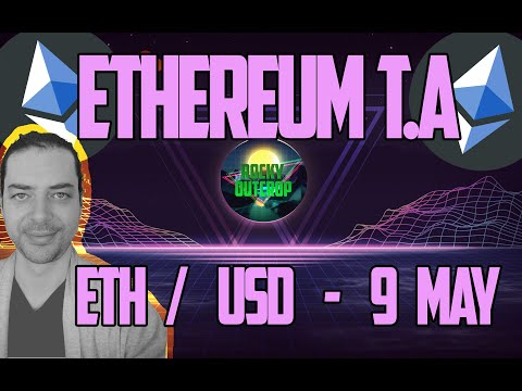 Ethereum (ETH/USD) - Daily T.A With Rocky Outcrop - May 9th - Technical Analysis & Price Predictions