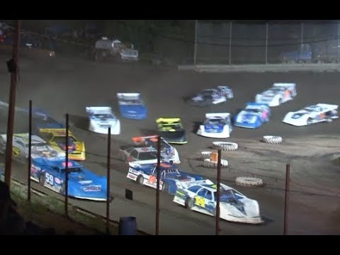 Hilltop Speedway Late Model Feature 6-21-2019
