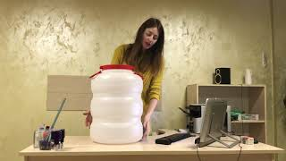 Обзор герметичной бочки на 50 литров