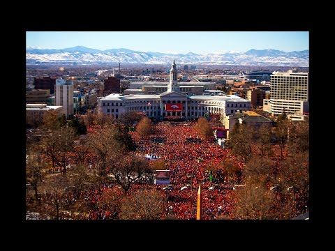 Denver Broncos Super Bowl Parade 2016