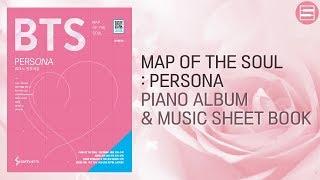 (악보집 판매) BTS - MAP OF THE SOUL : PERSONA Piano Full Album & Music sheet book | Kpop Piano Cover