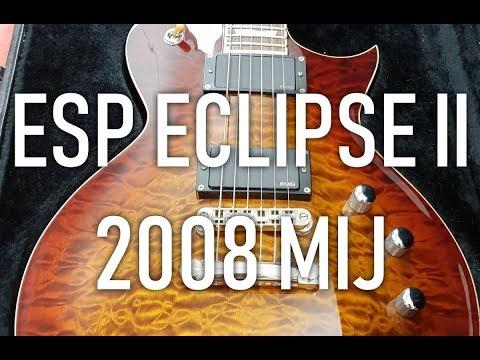 ESP Eclipse II 2008   Drop-D Sounds