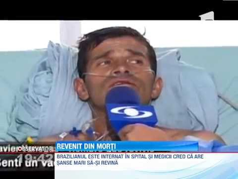 Un barbat ingropat de viu a iesit din mormant singur in Brazilia