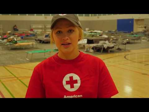 Lilac Fire Evacuees at Escondido Community Center | American Red Cross