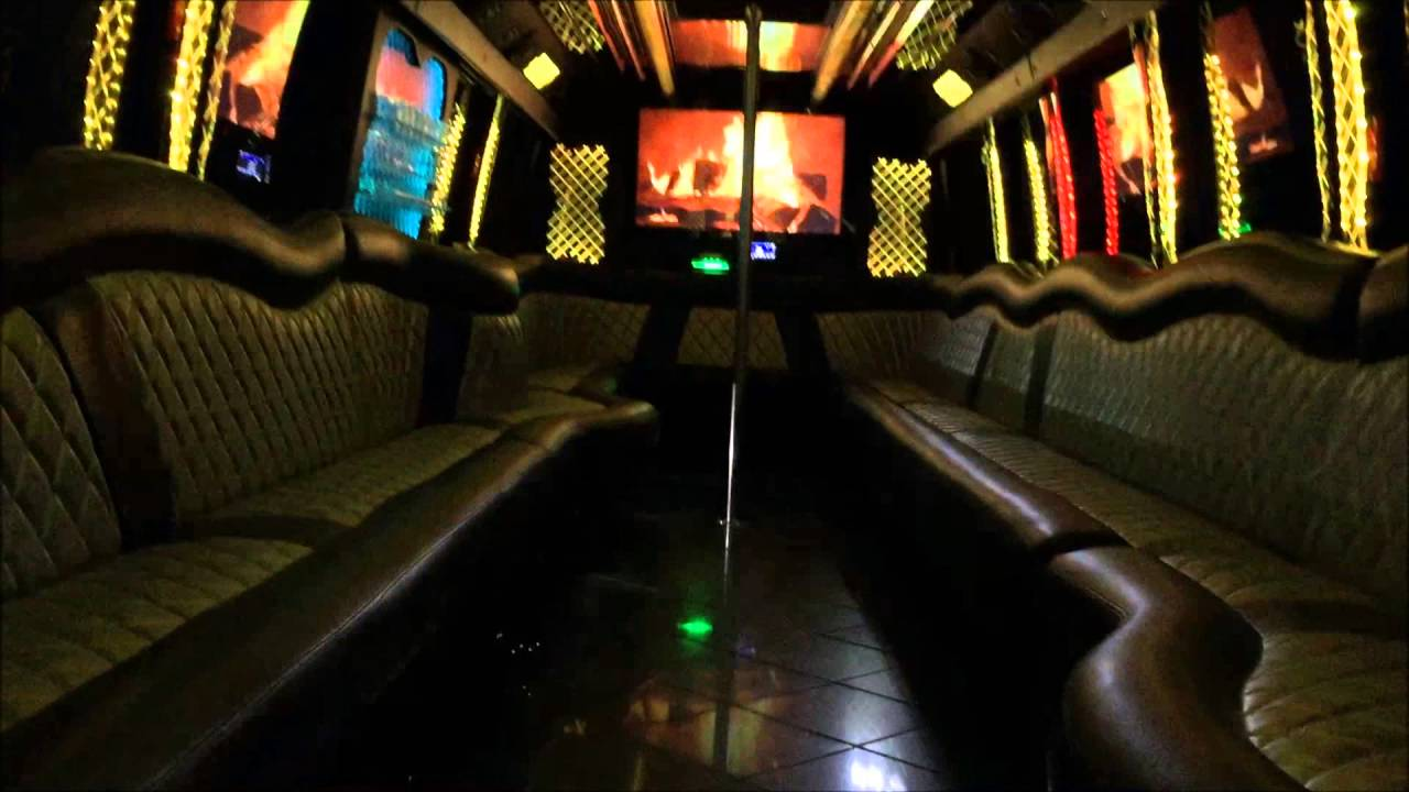ULTIMATE 2 38 PASSENGER PARTY BUS WITH BATHROOM