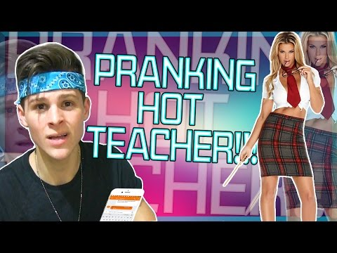 SONG LYRIC PRANK ON SEXY TEACHER!!!