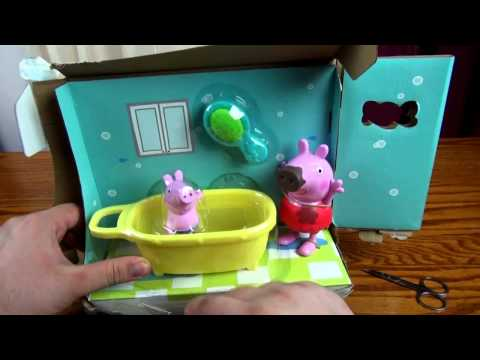 NEW 2014 Peppa Pig toys  Compilation