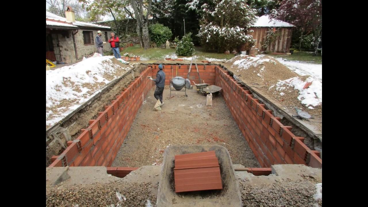 Construcci n de piscinas de hormig n gunitado youtube for Piscinas de hormigon