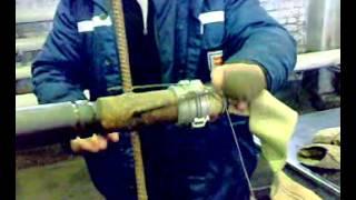 соединение пожарного рукава с гайкой(Учебное видео., 2015-03-16T07:53:25.000Z)
