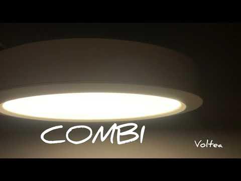 oprawa LED plafon downlight COMBI 18W VOLTEA