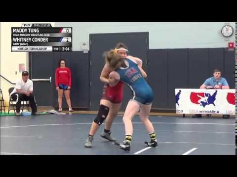 WG 55 KG - RD1 - Maddy Tung (TMWC) vs. Whitney Conder (Army)