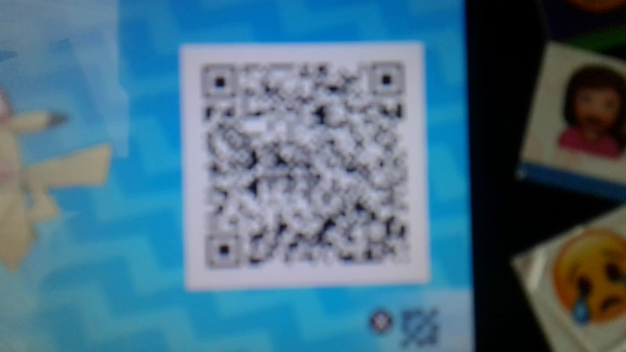 Ash Pikachu Qr Code Read Description Youtube