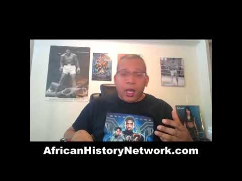 Black Panther is being used to teach African History to children - Michael Imhotep 3-1-18