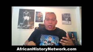 Michael Imhotep host of The African History Network Show on 3-1-18 ...