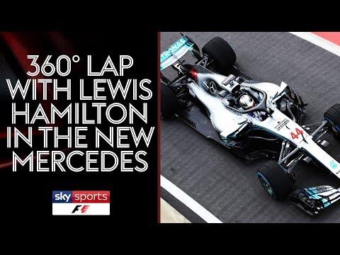 360° video of Lewis Hamilton's 2018 Mercedes-AMG Petronas F1 car! 😲