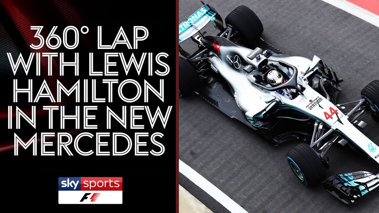 360 Video Of Lewis Hamilton S 2018 Mercedes Amg Petronas F1 Car