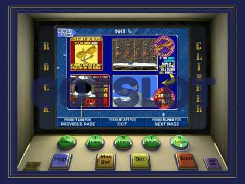 Игровой автомат Скалолаз Rock Climber
