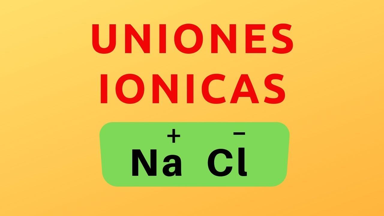 Uniones Químicas Química Y Algo Más