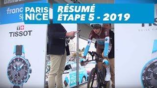 Résumé - Étape 5 - Paris-Nice 2019