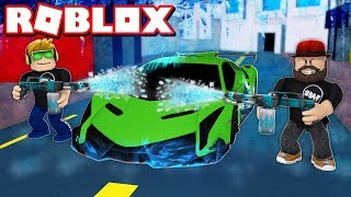 DESTROYING NEW MOST EXPENSIVE LAMBORGHINI in ROBLOX CAR CRUSHERS 2