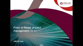 From in-house project management to MSP® programme management webinar
