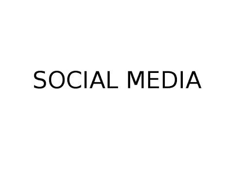 Wellbeing: Social media