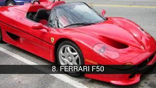Los mejores Ferrari de la historia