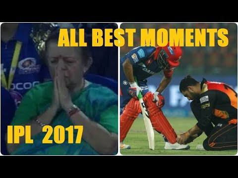 ALL BEST AND FUNNIEST MOMENTS OF IPL 2017 - IPL 10 Memorable Moments thumbnail
