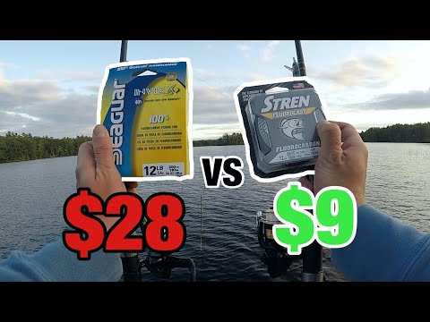 CHEAP Vs EXPENSIVE Fishing LINE (Does It MATTER?)