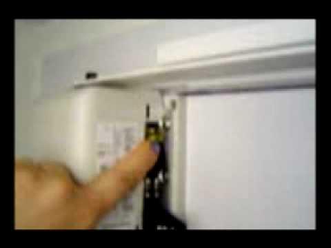 Swing Door Opener Installation   Skylink   YouTube