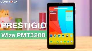 Prestigio Wize PMT3208 - компактный планшет с 3G - Видео демонстрация