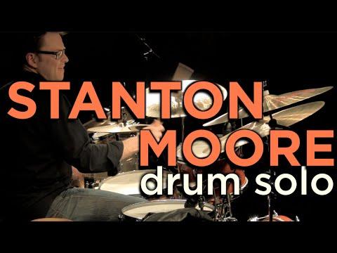 Stanton Moore Drum Clinic Solo - Live at Memphis Drum Shop - 03/09/10