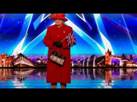 The Queen and Royal Family on BGT!   Auditions 3   Britain's Got Talent 2017