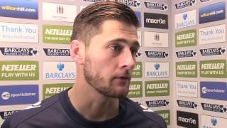 Joel Ward post Arsenal Interview