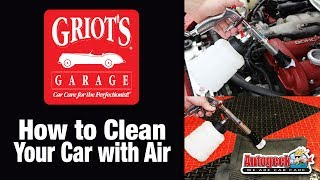 Clean your car with air - Griot's Garage Air Pulse Cleaning Gun
