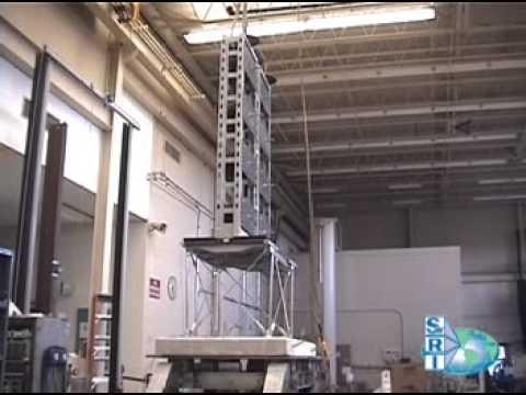 Seismic Bracing frame will restrain vertical ground motion