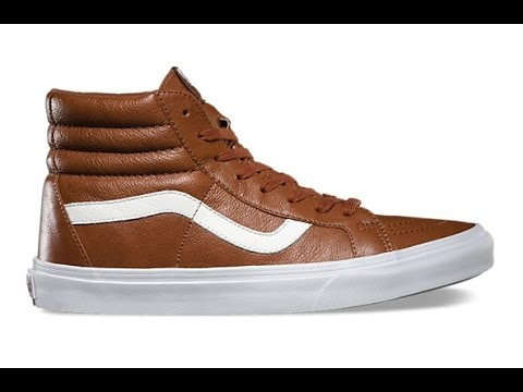 6a83bf3fe4 Shoe Review  Vans  Premium Leather  SK8-Hi Reissue (Tortoise Shell ...