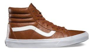 Shoe Review Vans Premium Leather Sk8