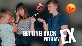 GETTING BACK TOGETHER WITH MY EX PRANK ON FIANCE *he left*