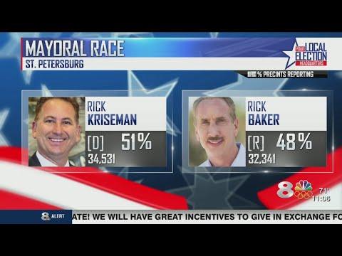 Rick Kriseman elected to 2nd term as Mayor of St. Petersburg